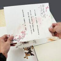 56 Sheets Writing Paper Letter Pad Stationery Note Paper Floral Chinese Style