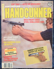 Magazine AMERICAN HANDGUNNER September/October 1984 !!BEEMAN/AGNER .22 PISTOL!!