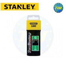 Stanley Staple 8mm 1000pc Type G Sharpshooter Fits Arrow & Rapesco 1-TRA705T