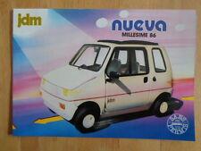 Jdm simpa nueva millesime 86 1986 français uk marketing sans permis microcar brochure