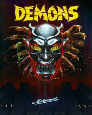 Demons Blu-ray Limited Edition Steelbook 2-Disc Set  MINT! Out of Print.