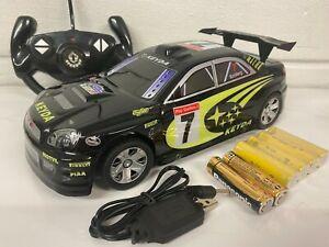 SUBARU IMPREZA WRC RADIO REMOTE CONTROL CAR FAST SPEED 1/18 RECHARGEABLE BOXED
