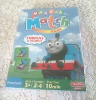 THOMAS AND FRIENDS  Make-A-Match Game (Brand New)