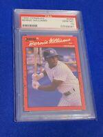 1990 Donruss Bernie Williams New York Yankees #689 PSA 10 GEM MINT Rookie Card