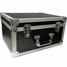 FreeLogix 7827 Professional DJ Flight Case Record Box for 7inch Singles - Black