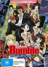 School Rumble Second Semester : Collection 2(DVD, 2009, 2-Disc Set)-free postage