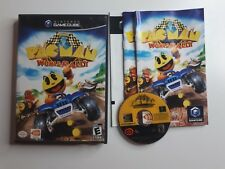 Pac-Man World Rally Pac Man Nintendo Gamecube Complete with Manual FREE SHIPPING