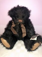 Retired 1996 Ganz Cottage Collectible Buster Brown Bear - Artist Lorraine Chen