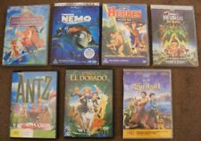 DISNEY DREAMWORKS Movie DVD LOT Timon Pumba NEMO Sinbad HEROES Antz JimmyNeutron