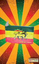 Lion Of Judah Rasta Roots Print Bus pass Travel Card Plastic Wallet