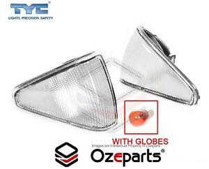 Altezza Pair LH+RH Corner Indicator Light For Ford Fairmont XE 1982~1984 Clear