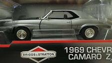 """FIRST GEAR 1969 CHEVROLET CAMARO Z/28 """"BRIGGS & STRATTON"""" 1:25 SCALE DIECAST"""