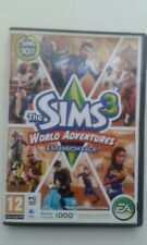 THE SIMS 3 WORLD ADVENTURES EXPANSION PACK GREAT PC GAME COMPLETE VGC
