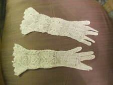 Irish Crochet Formal Gloves