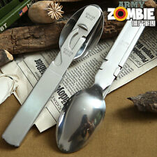 Original German Army Military Bw Bundeswehr Utensils Cutlery Set Essbesteck New