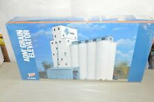 HO scale building structure KIT Walthers ADM Grain Elevator coop  silo