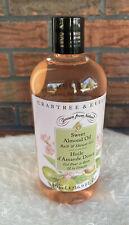 Crabtree & Evelyn Sweet Almond Oil Bath Shower Gel 16.9 oz Jumbo Size New