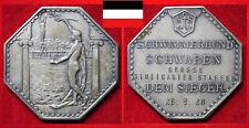SCHWIMMEN MEDAILLE DSV SBS SCHWABEN I. SIEGER GROSSE STUTTGARTER STAFFEL 1920
