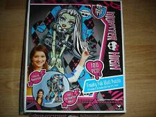 "NEW Monster High Power Freaky Fab Wall Puzzle 24"" x 36"" 100 pc pieces Frankie"