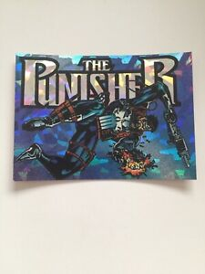 PUNISHER WAR JOURNAL ENTRY PRISMATIC CHASE CARD #1