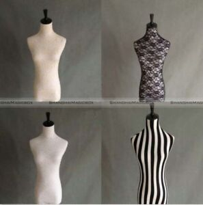 Lace Stretched Dress Form Mannequin Cover Model Dummy Top Cover