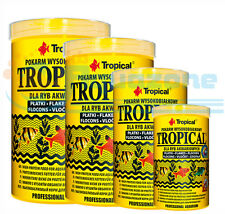 TROPICAL high-protein flakes Complete feedingstuff for ornamental fish NEW
