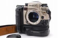 Minolta α-9 Ti Alpha Maxxum Dynax 9 Ti Titan 35mm Spiegelreflexkamera w/VC-9 Griff B106