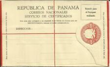 Panama Registered Postal Envelope HG:C3, unused