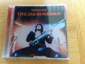 Thin Lizzy - Live and Dangerous (Live Recording, 1996 - CD 532 297-2