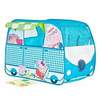 Peppa Pig Campervan Pop Up Play Tent Playhouse, Multi-Colour