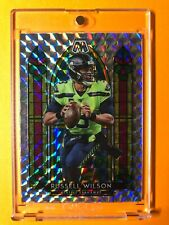 New Listing2020 Panini Mosaic Russell Wilson Stained Glass Silver Prizm Case Hit Ssp