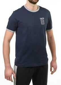 Champion Seigneur Ringer T-shirt New Navy / Oxford Gray, S