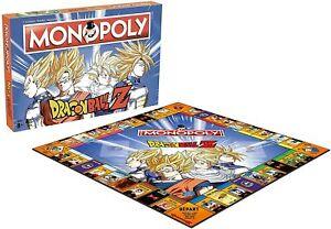MONOPOLY DRAGON BALL Z / Jeu de société Collection ENFANT Garçon Fille Jeux NEUF