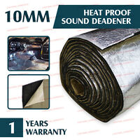 200cm x100cm Bonnet Body Heat Insulation Deadener Sound Shield Mat Alumium Foil