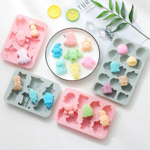 Halloween Silicone Cake Chocolate Baking Mold Ice Cube Tray Jelly Candy Mould 3D