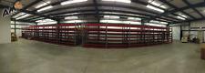 Teardrop Pallet Rack Industrial Heavy Duty Storage w/ Roller Gravity Shelving