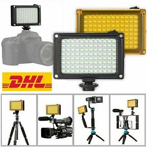 Foto Studio LED Videoleuchte Licht Filter für Canon Nikon DSLR Kamera Camcorder