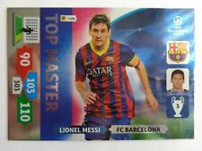 Lionel MESSI Top Master 2013 2014 UEFA Champions league Panini Adrenalyn XL Card