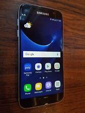 Samsung Galaxy S7 SM-G930R6 (Unlocked) 32GB Black Smartphone - SCREEN BURN-IN