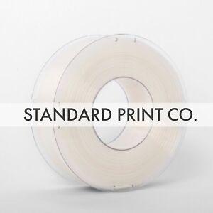 3D Printer Filament PLA Natural1.75mm 1KG - Standard Print Co.