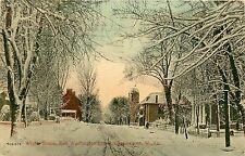 West Virginia, Wv, Charlestown, Winter Scene, E Washington Street 1913 Postcard