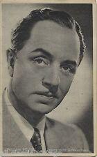 William Powell Vintage Movie Film Star Trading Card Kwatta Serie C #1