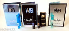 4 THIERRY MUGLER SAMPLES PURE MALT ICE MEN A MEN SUNESSENCE 1.2ml SPRAY COLOGNE