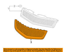 Chevrolet GM OEM 09-12 Traverse Front Bumper-Lower Bottom Grille Grill 20756061