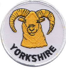 Yorkshire Ram Dales National Park Round Embroidered Patch