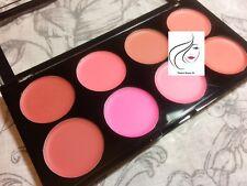 Makeup Revolution Blush Melts Blush Palette (Cream) Red Pink Rose