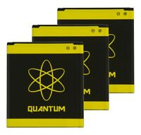 3x Quantum Extended Slim 5990mAh Batteries for SamsungGalaxy S4 L720 I9500 I9505
