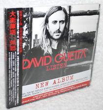 David Guetta Listen 2014 Taiwan Ltd 2-CD w/OBI digipak (ft. SIA THE SCRIPT)