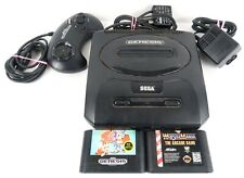 Sega Genesis Model 2 Console ~ Sonic & Wrestle Mania ~ Tested and Working!