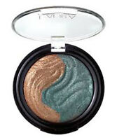 Laura Geller Baked Eclipse Shadow Duo. Colour: Bronze/Emerald. New.